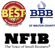 Member of BBB Of Walton County and NFIB